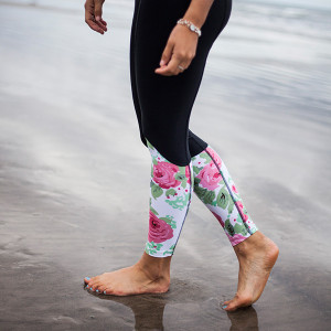 These leggings with the rashguard above would be so adorable together!